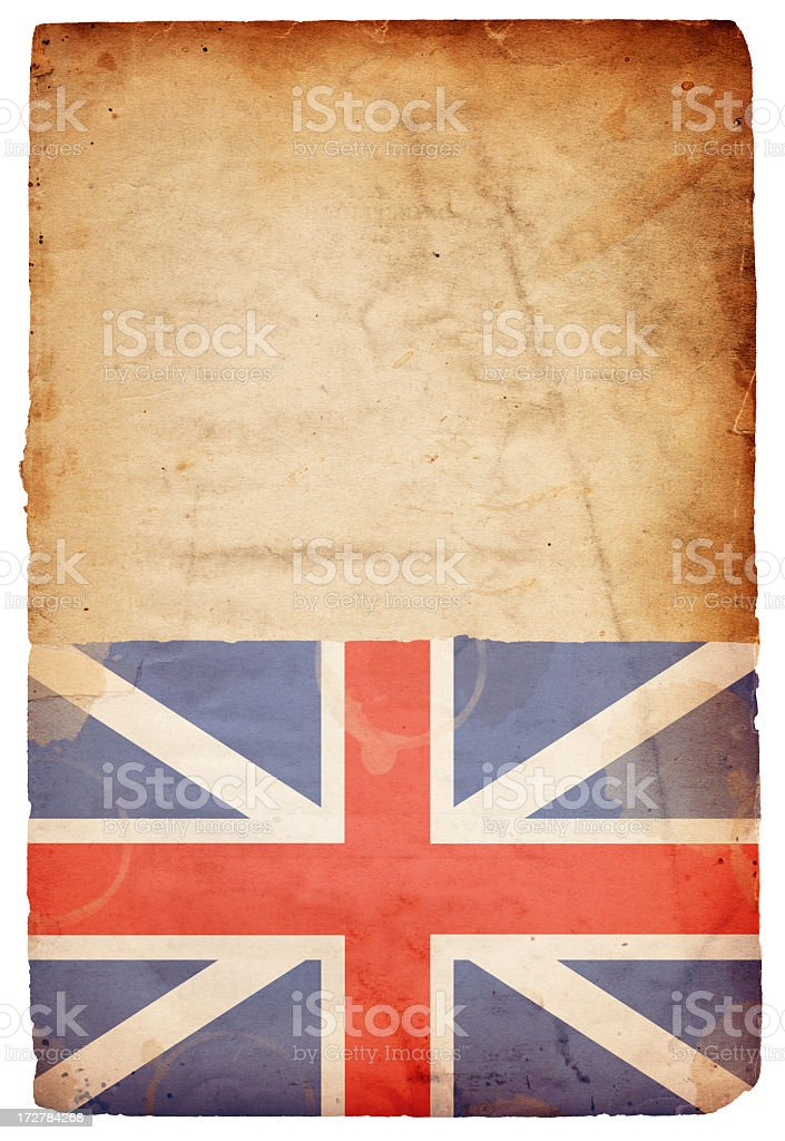 King's Colors/The Union Flag XXXL royalty-free stock photo