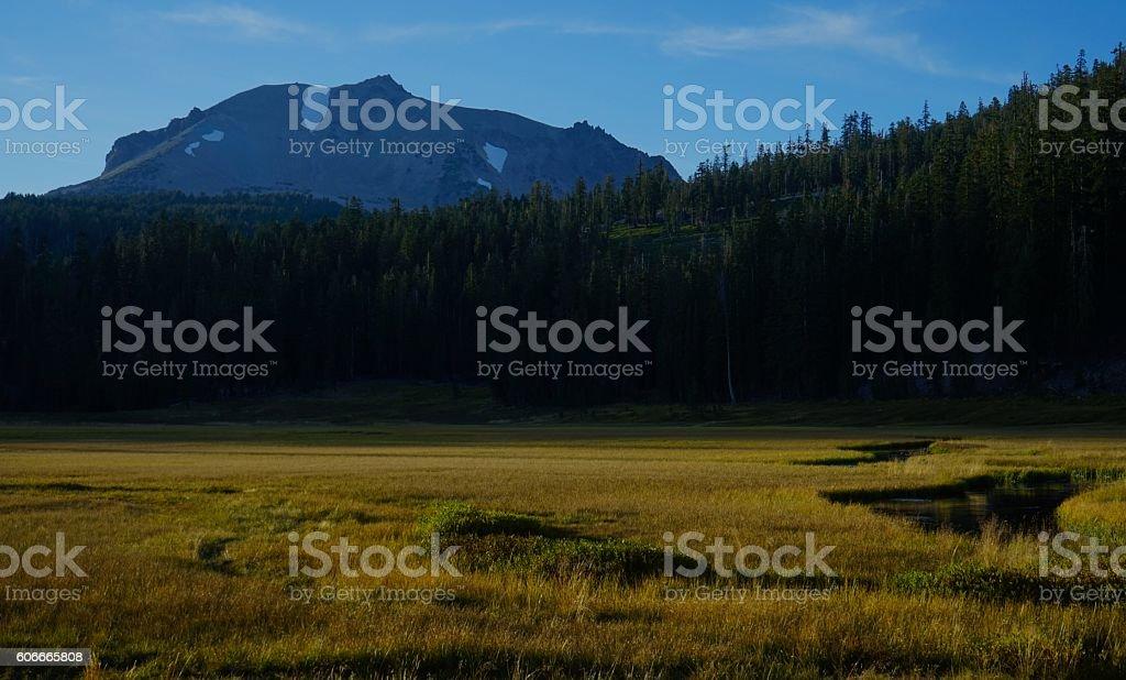 Kings Creek Meadow stock photo