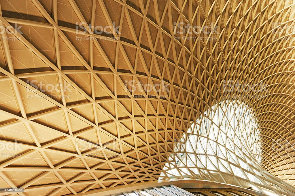 Kings Cross and St Pancras Station royalty-free stock photo