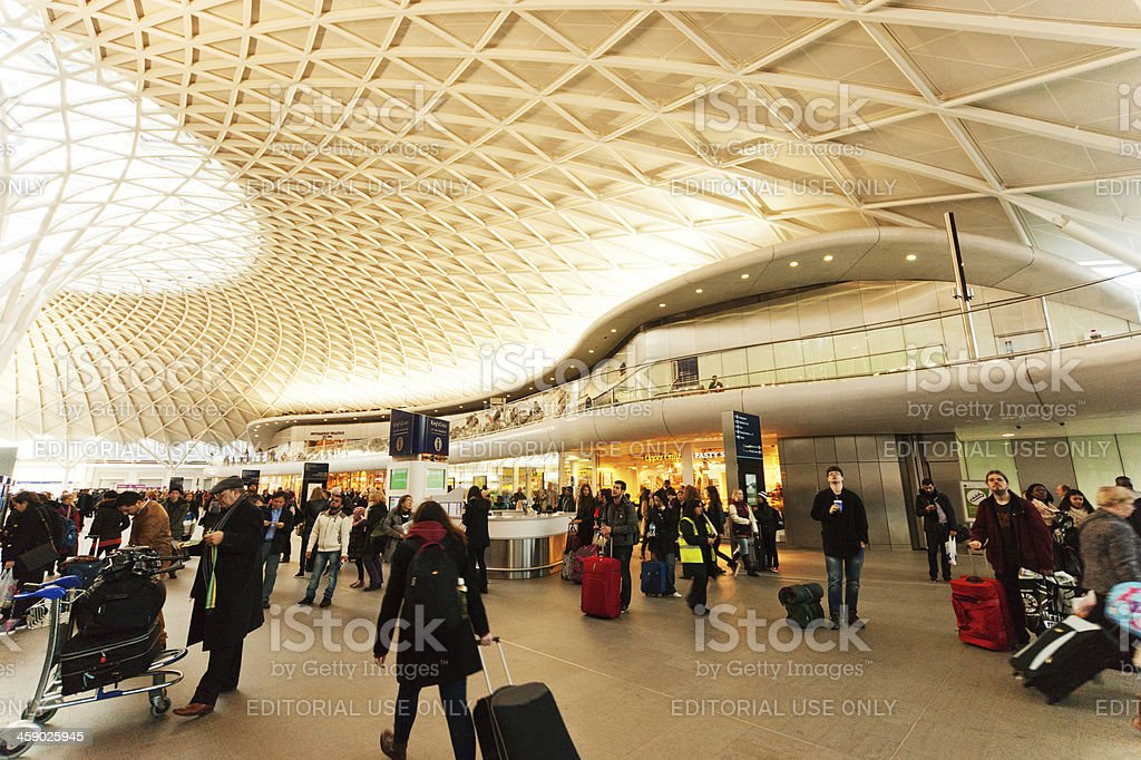 Kings Cross Station royalty-free stock photo