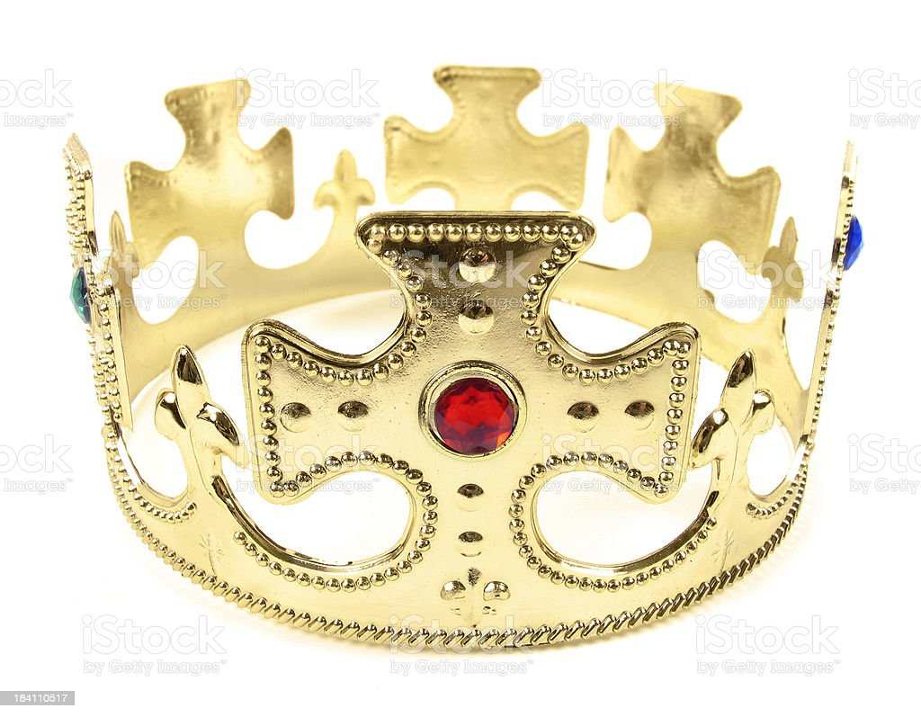 King's Crown royalty-free stock photo
