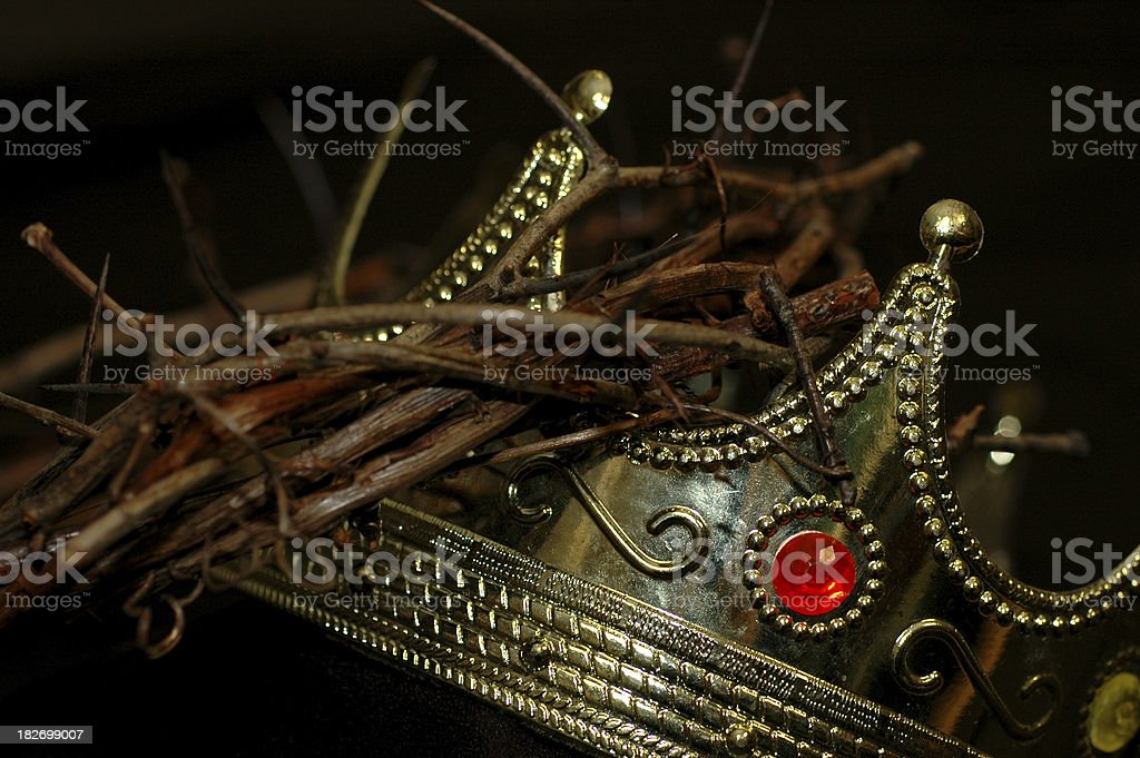 King's Crowns 2 royalty-free stock photo