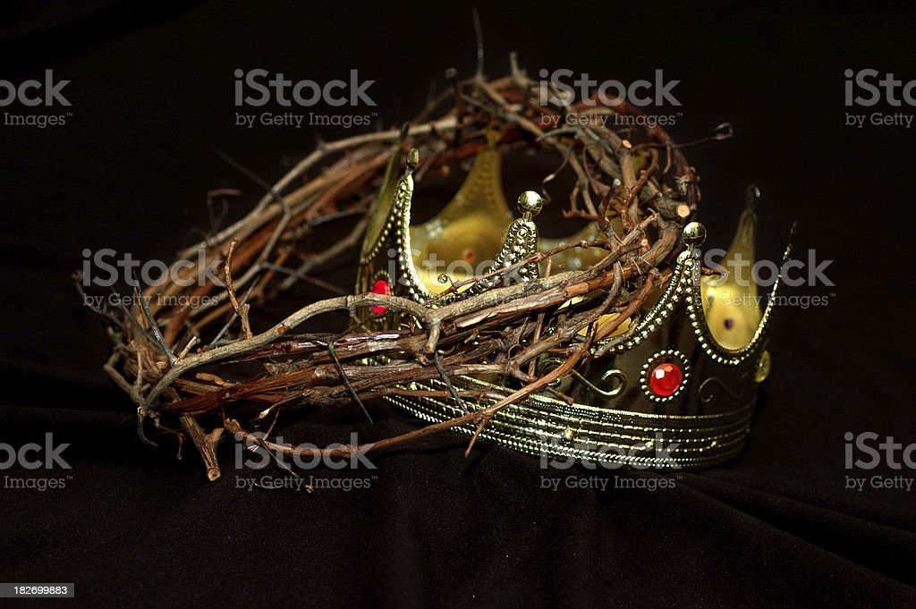 King's Crowns royalty-free stock photo
