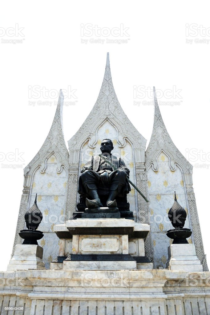 King's memorial of Thailand stock photo