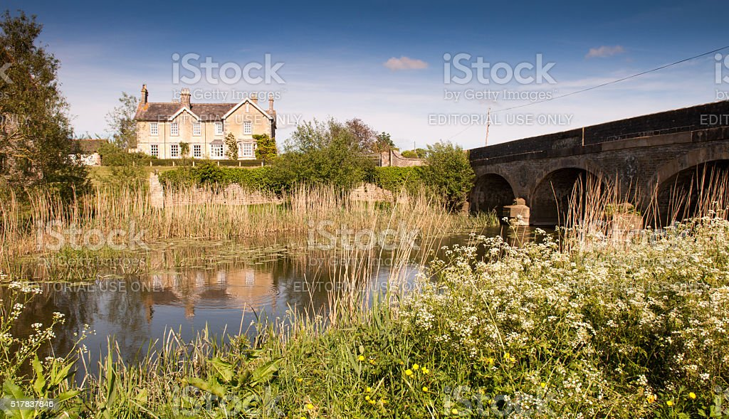 King's Mill stock photo