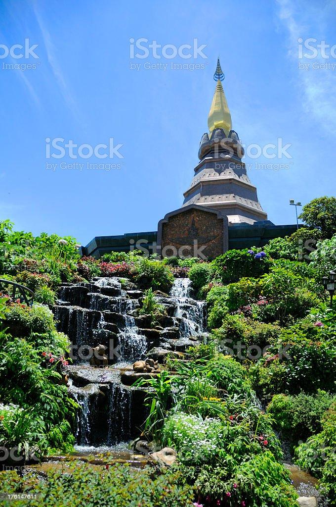 King's Pagoda stock photo