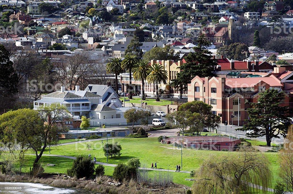 Kings Park, Launceston, Tasmania, Australia stock photo