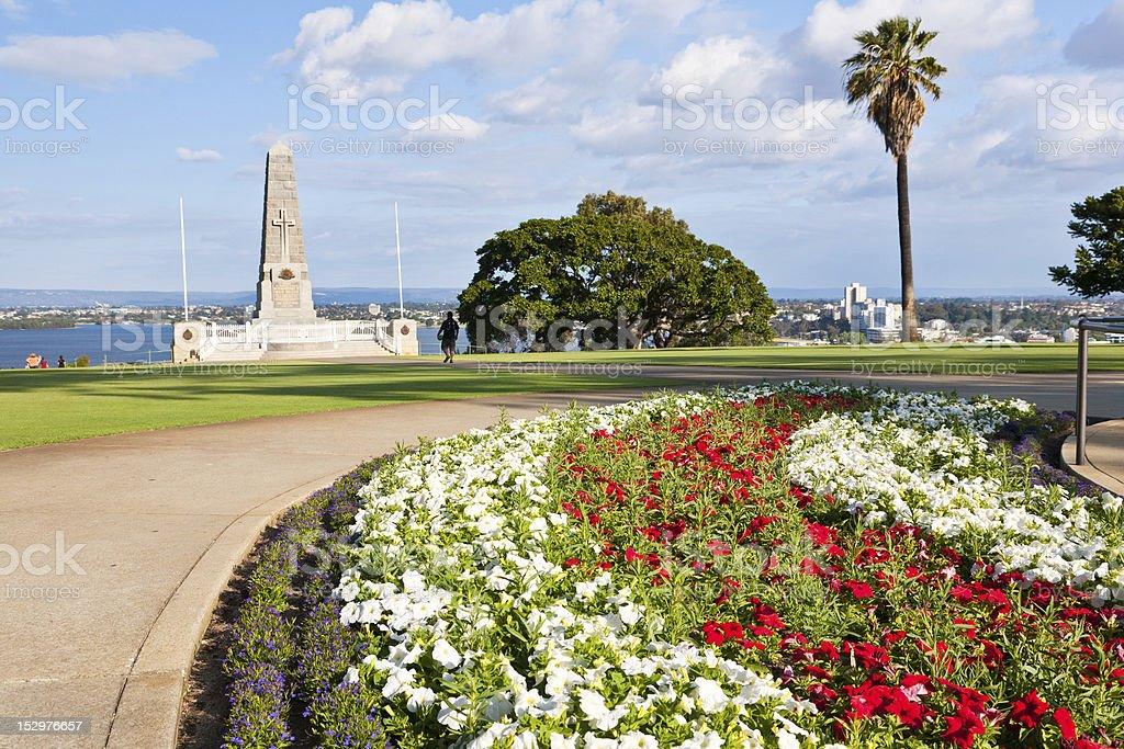 Kings Park War Memorial stock photo