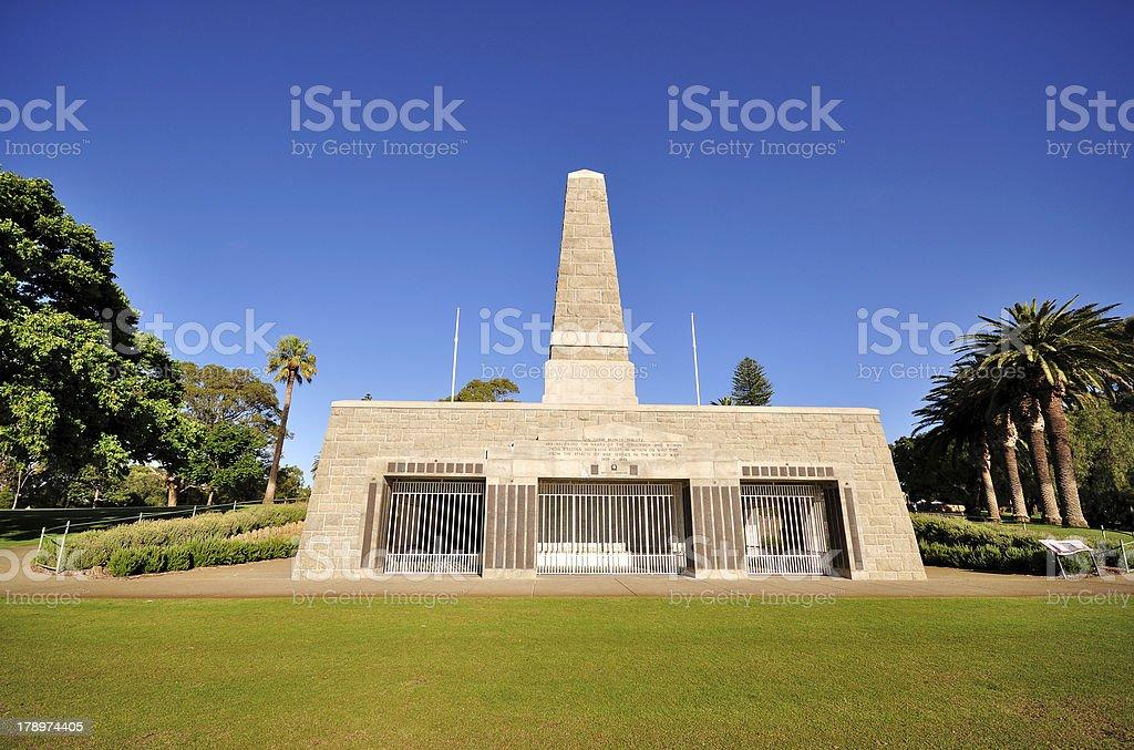 King's Park War Memorial stock photo