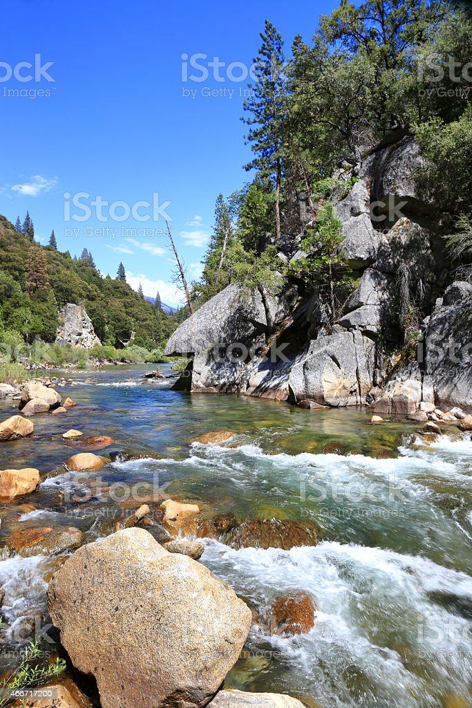King's river stock photo