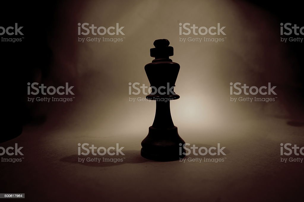 Kings shadow stock photo
