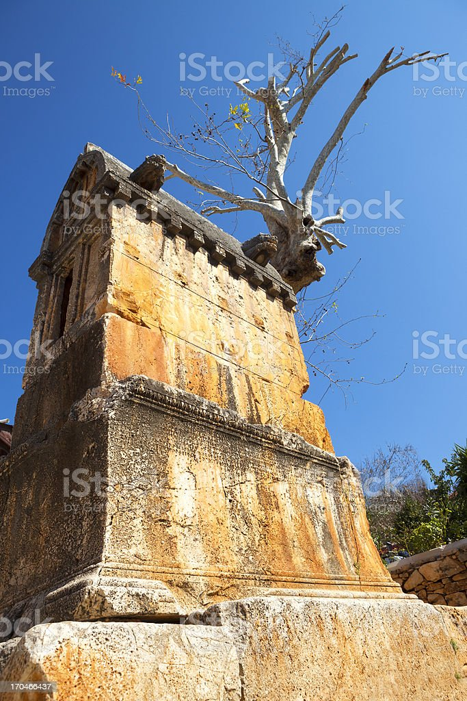King's Tomb. royalty-free stock photo