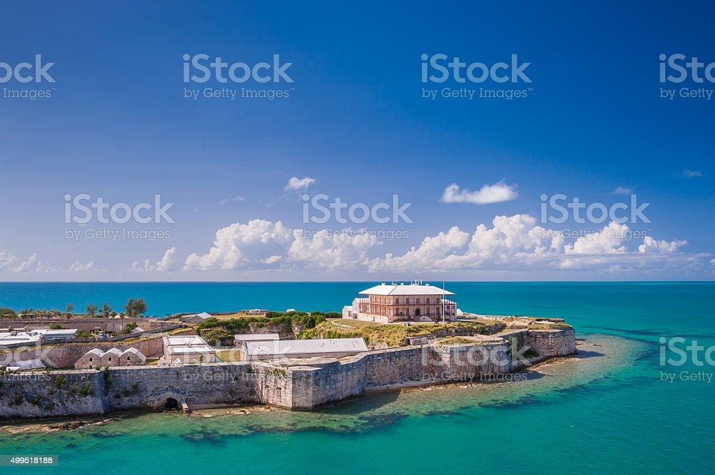 King's Wharf, Bermuda stock photo