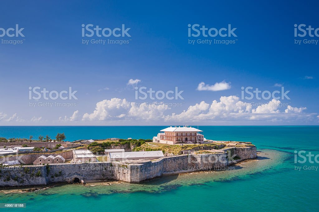 King's Wharf, Bermuda stock photo