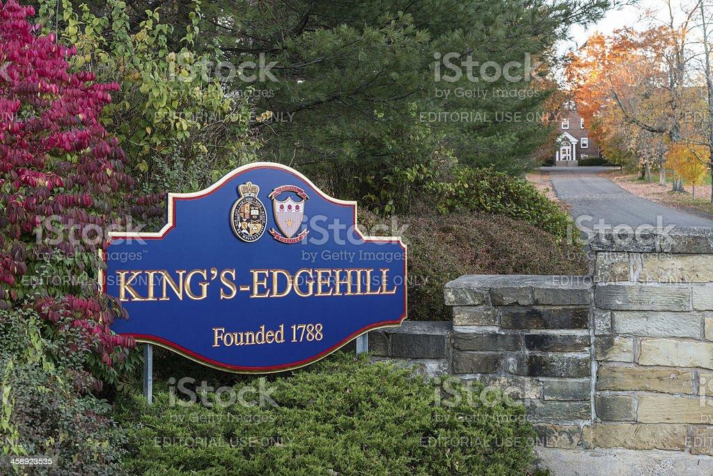 King's-Edgehill royalty-free stock photo