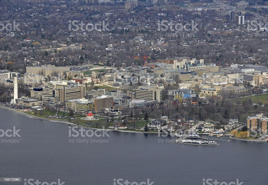 Kingston aerial royalty-free stock photo