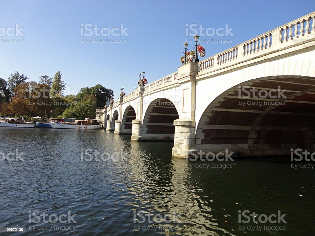 Kingston Bridge stock photo