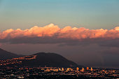 Kingston Jamaica at Sunset