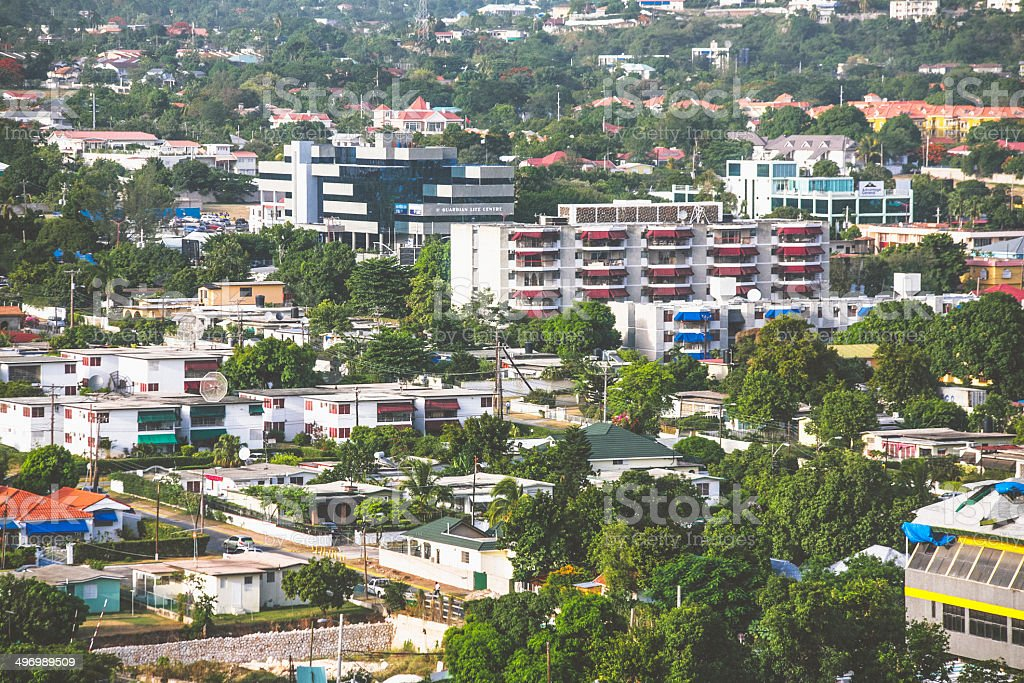Kingston, Jamaica. stock photo