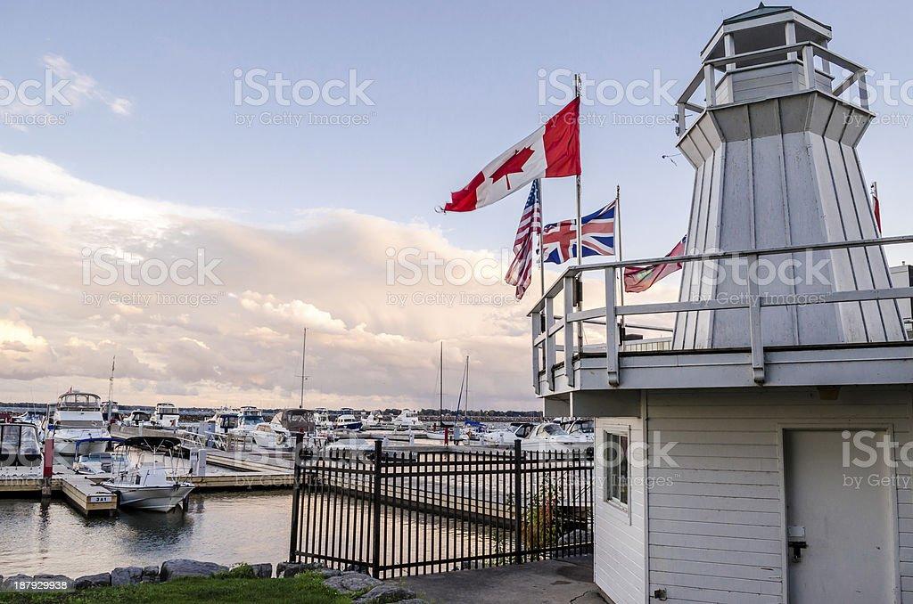 Kingston Marina royalty-free stock photo