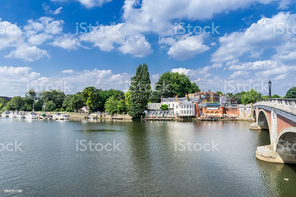 Kingston upon Thames stock photo