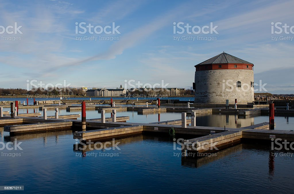 Kingston's Marina stock photo