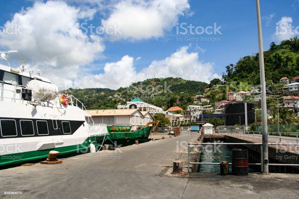 Kingstown, Saint Vincent and the Grenadines stock photo