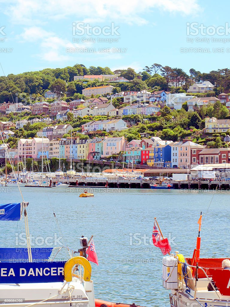 Kingswear, Devon. stock photo