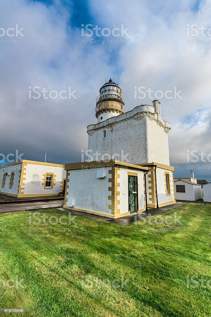 Kinnaird Head lighthouse, Fraserburgh, Scotland, UK stock photo