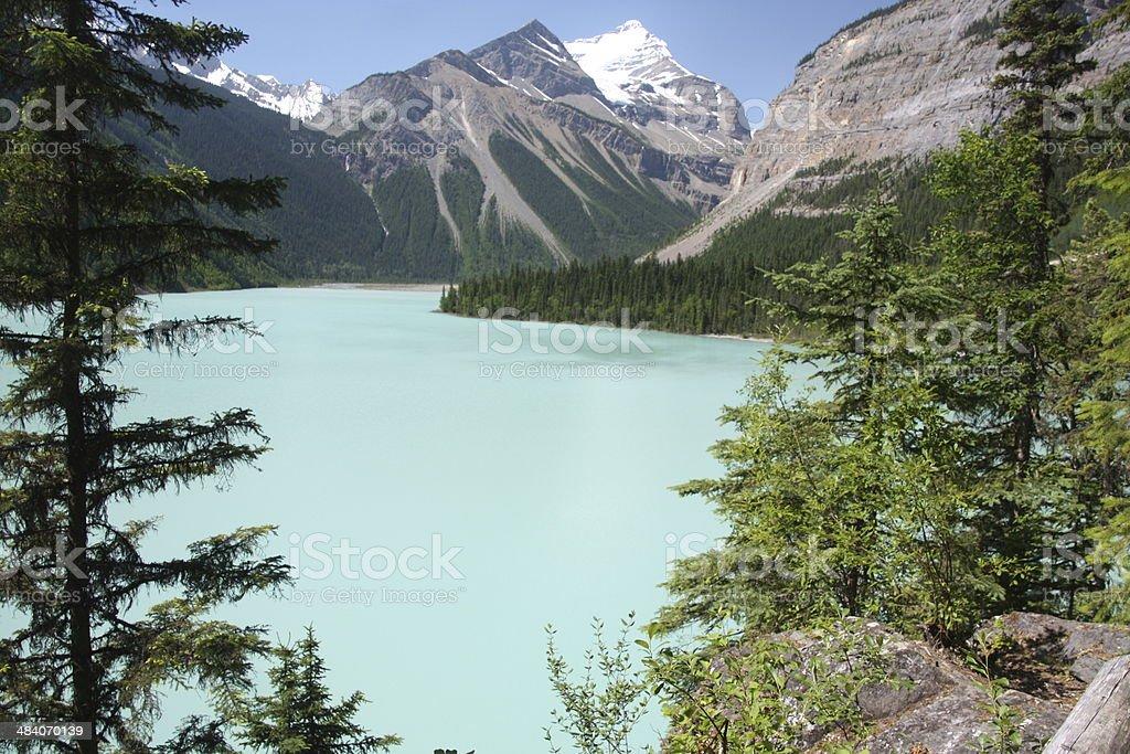 Kinney Lake, British Columbia, Canada stock photo