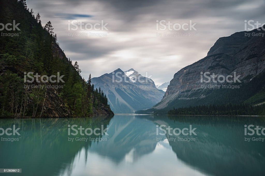 Kinney Lake stock photo