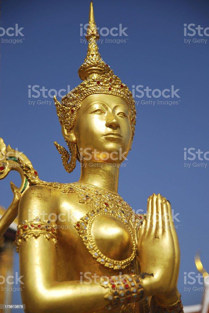 Kinora Sawasdee Vertical royalty-free stock photo