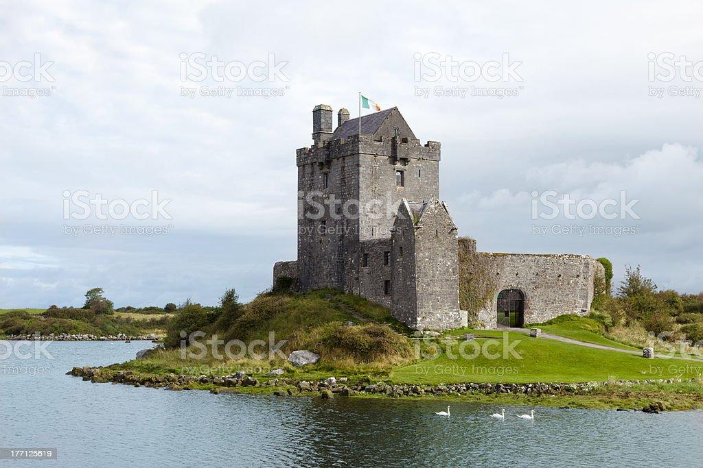Kinvara's Castle . Ireland stock photo