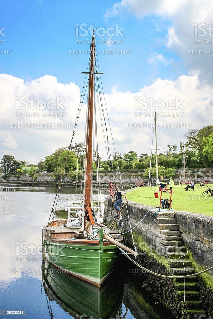 Kinvarra, Ireland stock photo