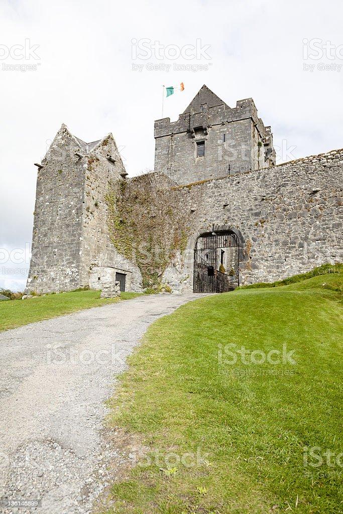 Kinvarra's Castle. Ireland stock photo