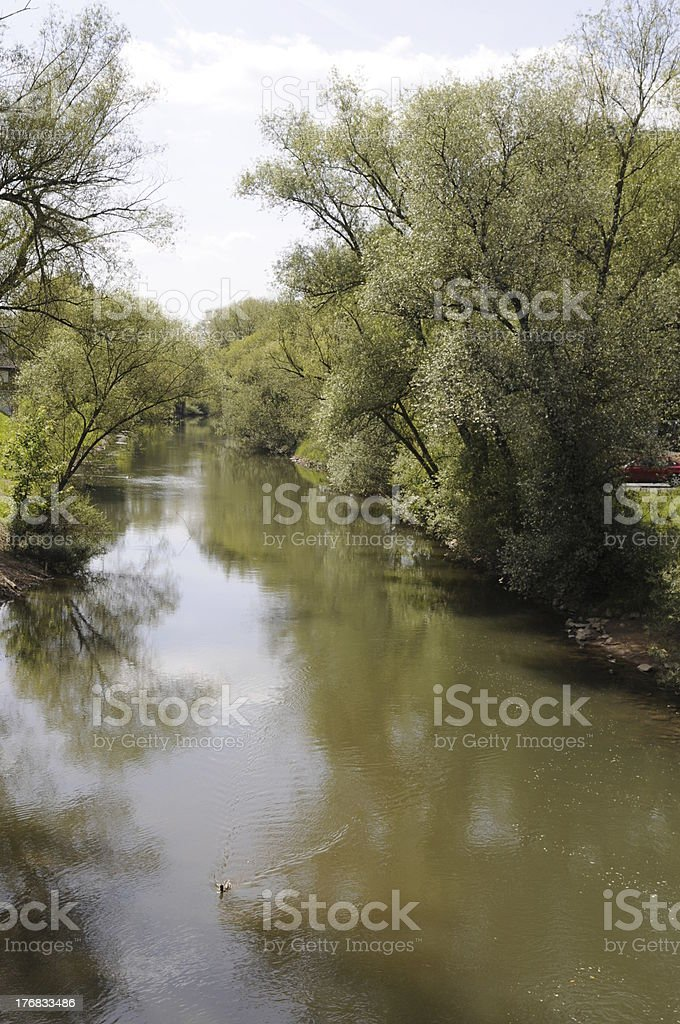 KInzig, a river in Germany stock photo