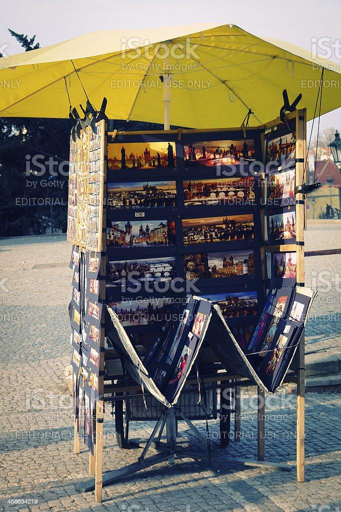 Kiosk royalty-free stock photo