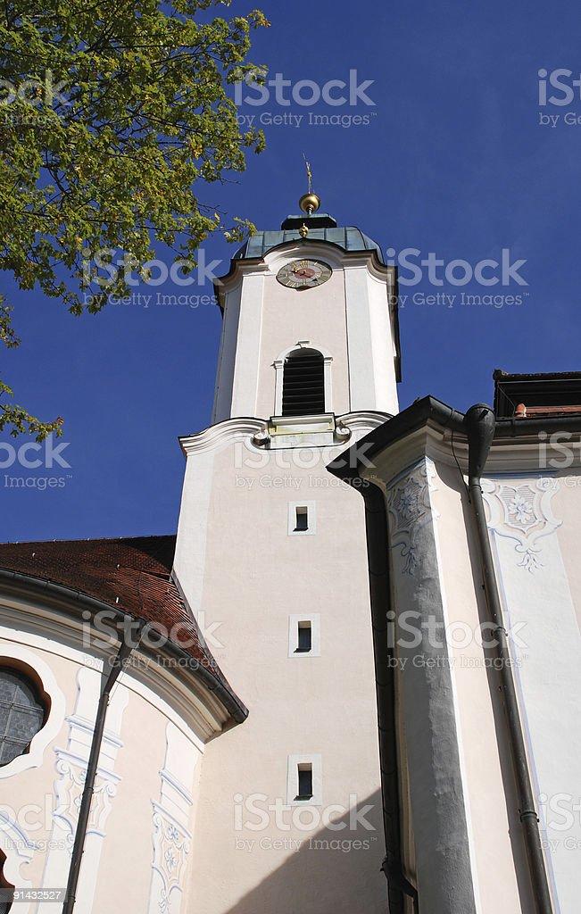 kirche auf der wies 13 stock photo