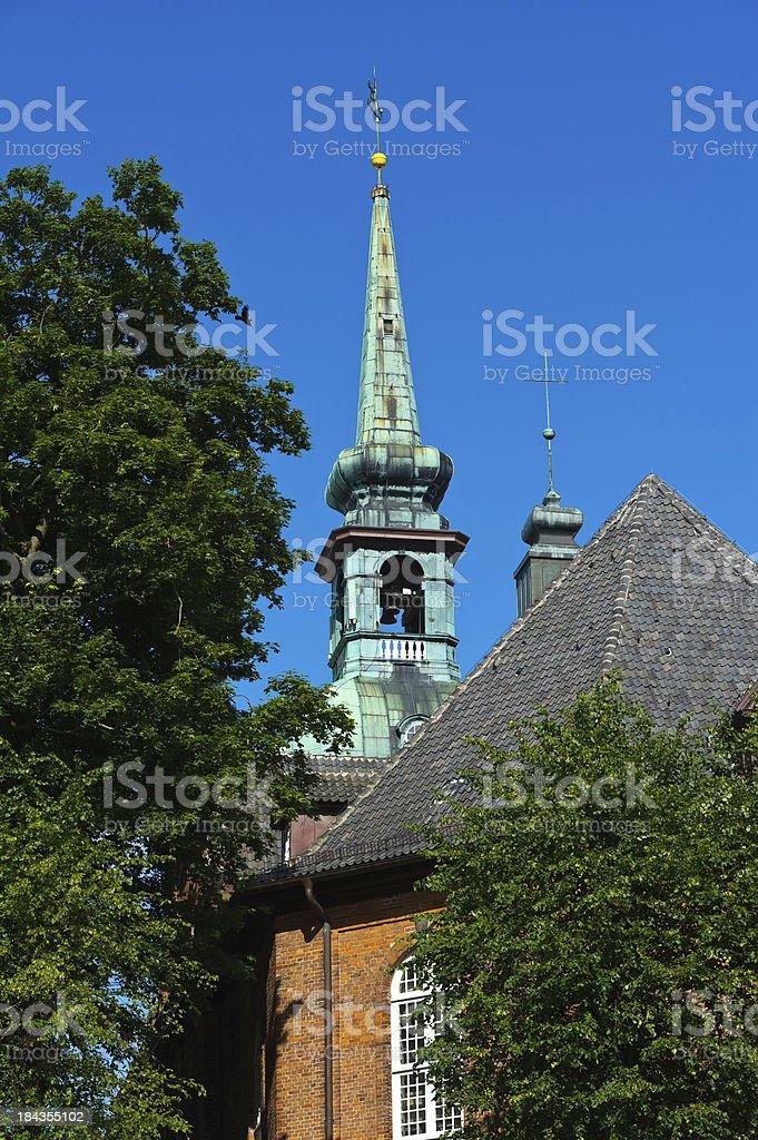 Kirche in Kappeln stock photo