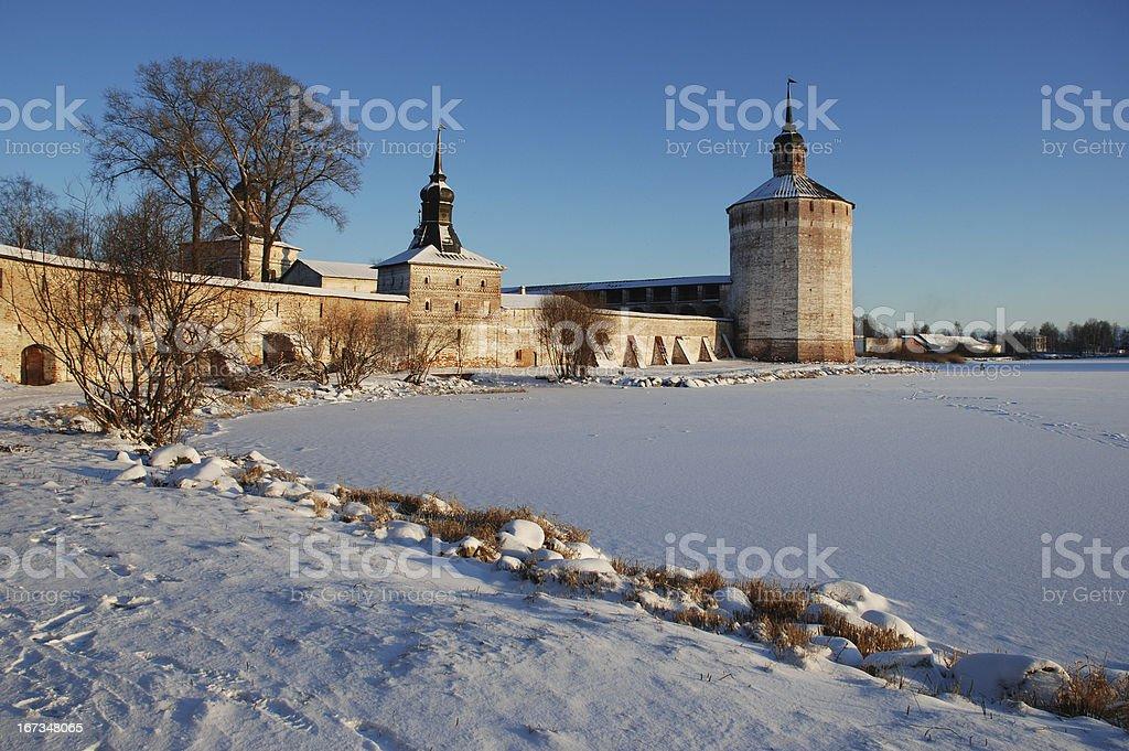 Kirillo-belozersky monastery royalty-free stock photo