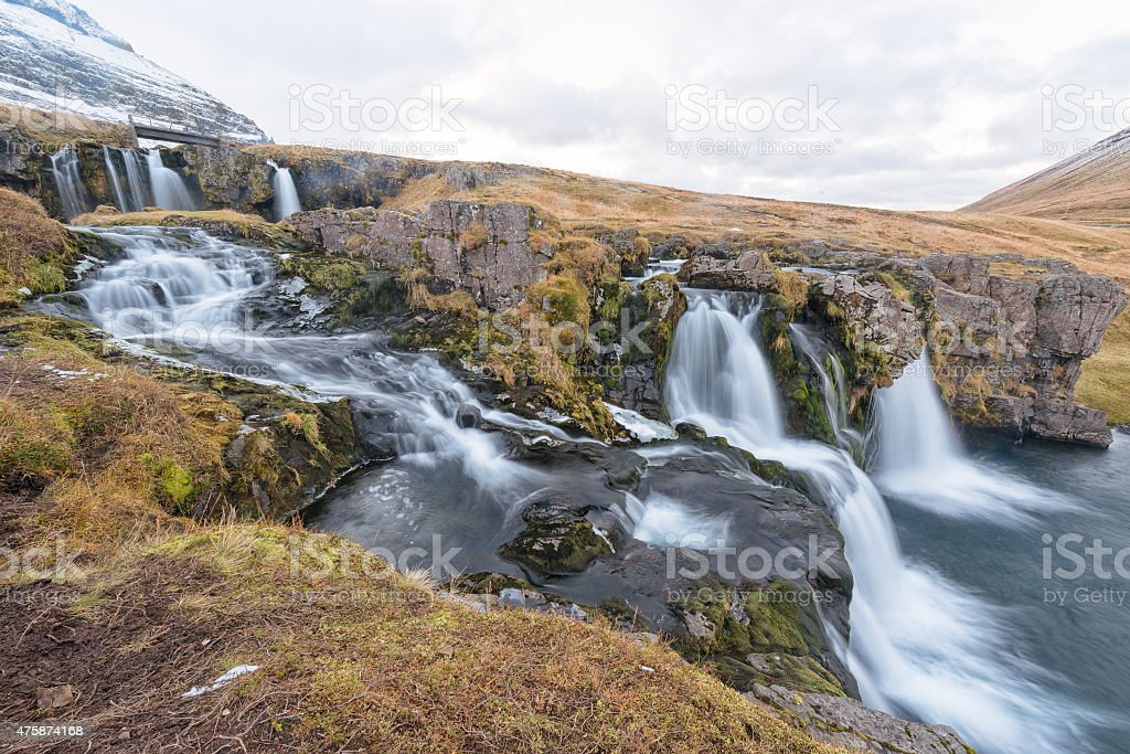 Kirkjufell, Iceland stock photo