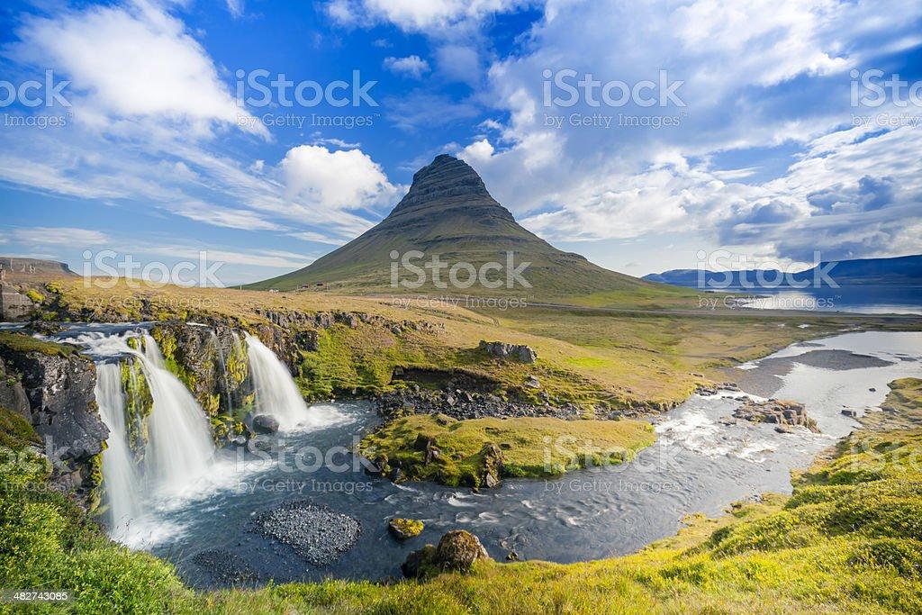 Kirkjufell, Iceland royalty-free stock photo