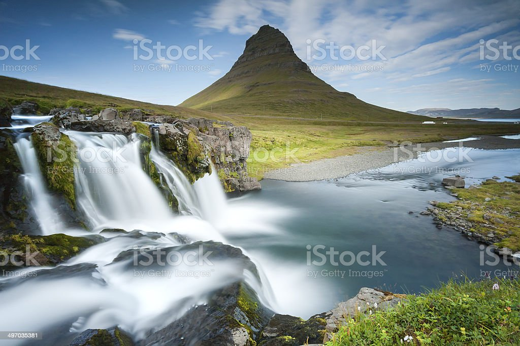 Kirkjufell stock photo