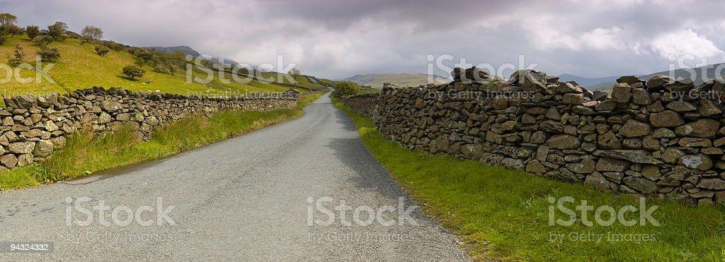 Kirkstone Pass, Lake District, UK stock photo