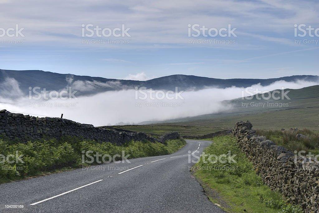 Kirkstone Pass road stock photo