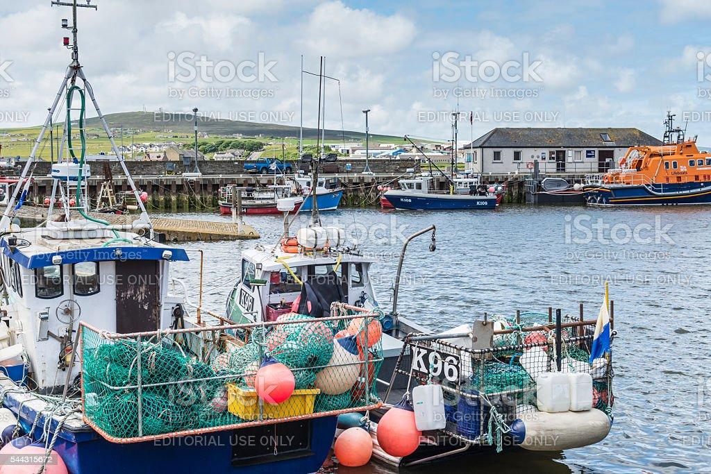 Kirkwall, Scotland stock photo