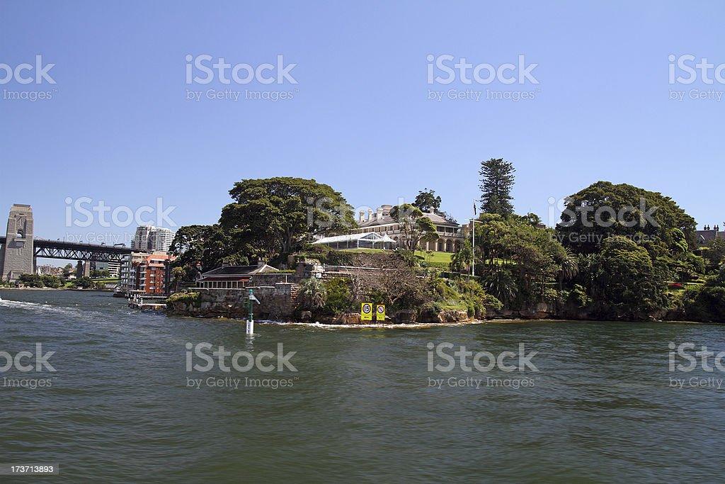 Kirribilli House royalty-free stock photo