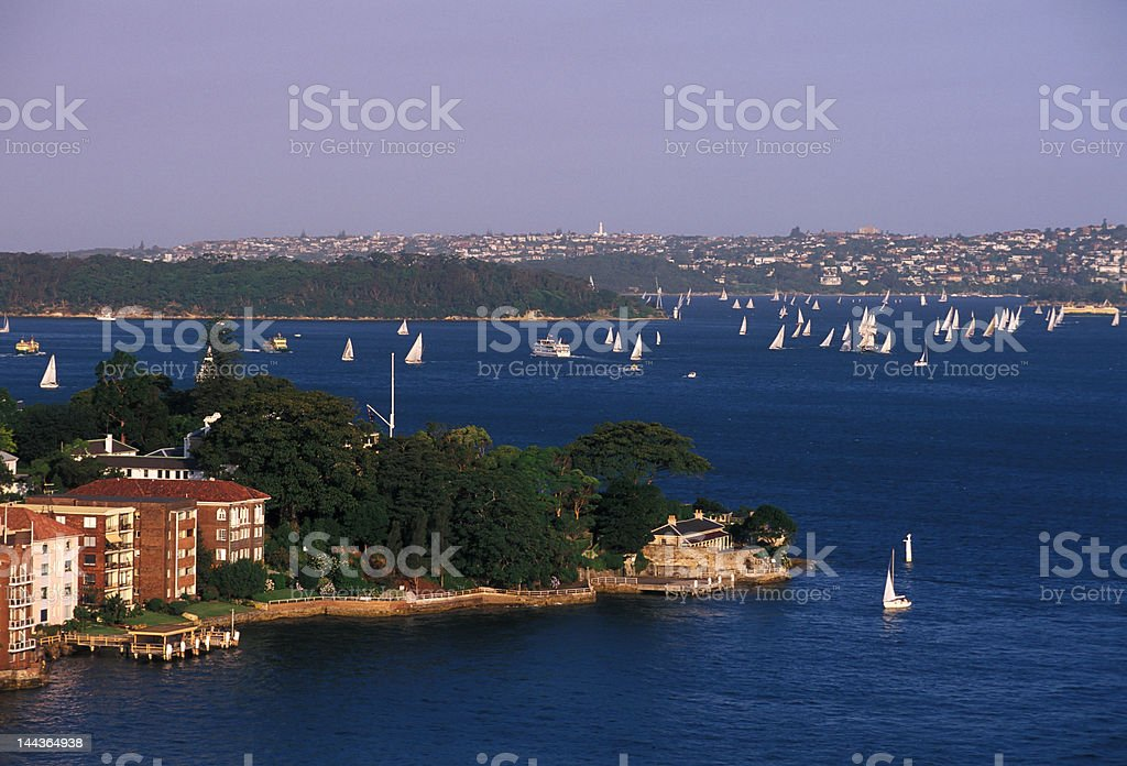 Kirribilli Point royalty-free stock photo