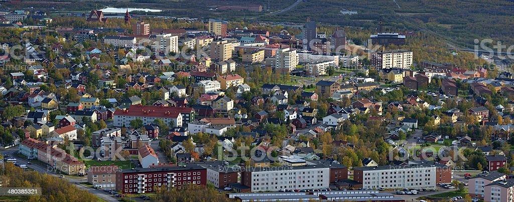 Kiruna stock photo