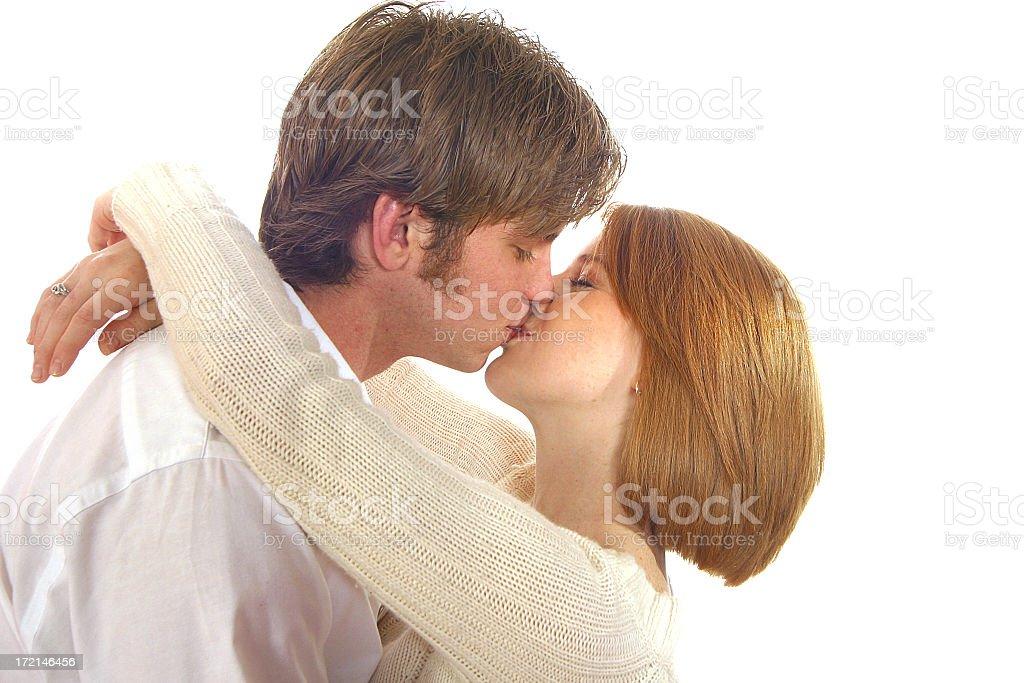 Kiss 1 royalty-free stock photo